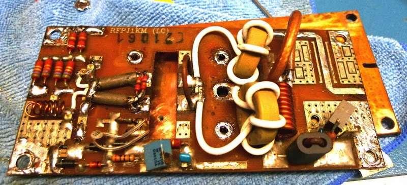 Reparacion pallet FM amplificador de 88 a 108 mhz Servicio Tecnico