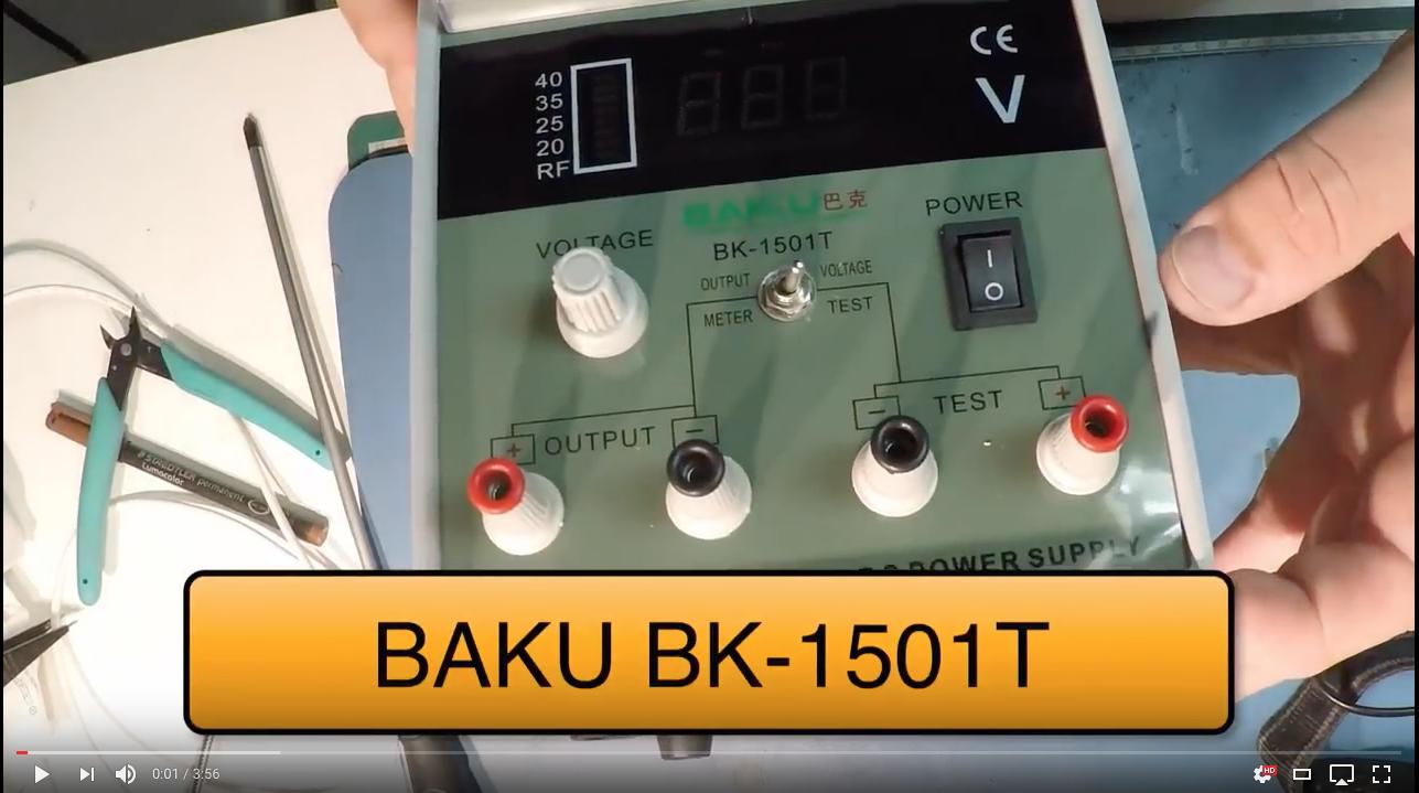 BAKU BK 1501T Teardowns y Reviews Servicio Tecnico Las Palmas