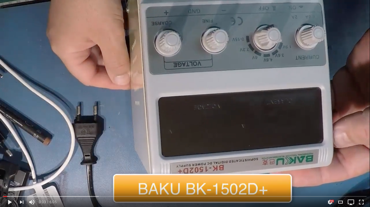BAKU BK 1502D PLUS Teardowns y Reviews Servicio Tecnico Las Palmas